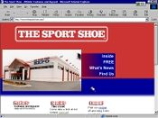 The Sport Shoe site image