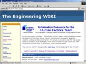 The Engineering WIKI - HFT section (Intranet) site image